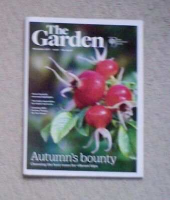 'The Garden' - November 2017 issue - RHS Royal Horticultural Society magazine