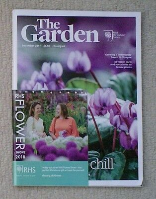 'The Garden' - December 2017 issue - RHS Royal Horticultural Society magazine
