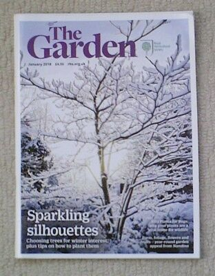 'The Garden' - January 2018 issue - RHS Royal Horticultural Society magazine