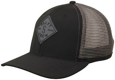 outlet store fe1fa b9961 Salty Crew Aruba Custom Retro Trucker Hat - Black - New
