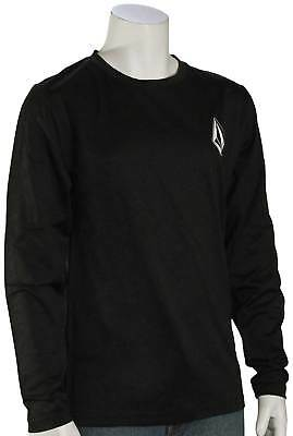 Volcom Boy's Deadly Stones LS Surf Shirt - Black - New