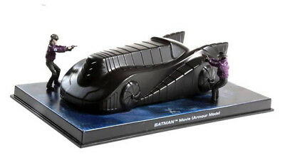 1989 Batman Movie Batmobile Armour Mode Eaglemoss 1:43 IXO Altaya