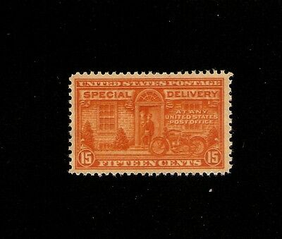 US STAMP E16, the 15¢ Orange  Motorcycle  Special Delivery MINT NH OG