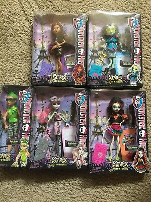 Lot Monster High Scaris City Dolls Skelita Frankie Deuce Clawdeen Rochelle New