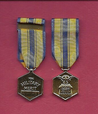 US AIR FORCE Commendation Anodized mini miniature medal