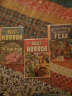 *Lot Of 3* Vintage Horror Comics early 90's