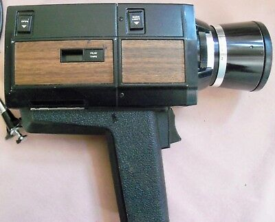 Vintage Sears Super 8 Eight Video Movie Camera  Zoom C-131 with case untested