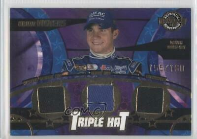 Sports Mem, Cards & Fan Shop 2005 Wheels American Thunder Triple Hat #th24 Brian Vickers Rookie Racing Card Easy To Use