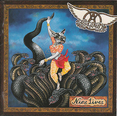 """Aerosmith """"Nine Lives"""" w/ Falling in Love, Pink, Hole in my Soul & more"""