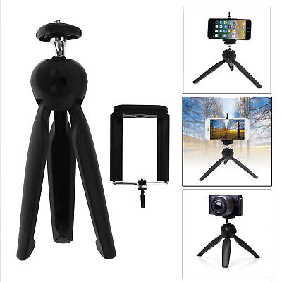Portable Camera Tabletop Tripod Mini Tripod with Holder Mount Selfie For Phone