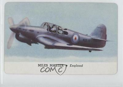 1944 Leaf Card-O Aeroplanes Series C R112-4 Joker Back NoN Miles Master Card 9at