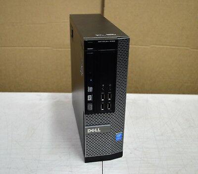 DELL Optiplex 9020 SFF PC Intel Core i7-4790 @3.60GHz 8GB MEM 500GB HDD Win 10