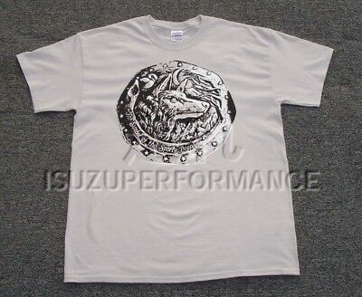 Isuzu Bellett Wolf T-Shirt - Ice Gray Color - The Symbol of the Sporty People