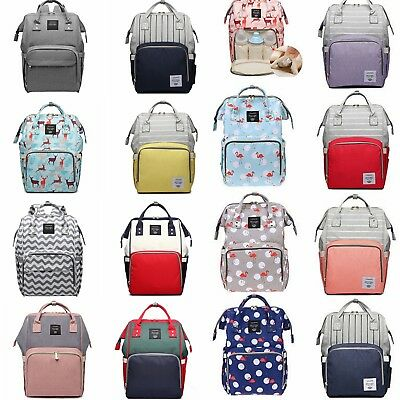 Mummy Maternity Nappy Diaper Bag Large Capacity Baby Bag Travel Backpack Bags