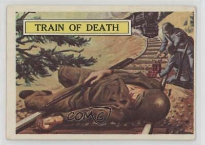1965 Topps Battle: The Story World War II #27 Train of Death Non-Sports Card 0s4