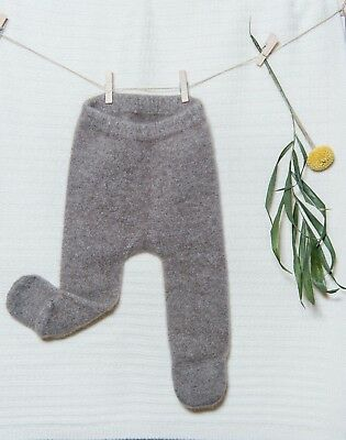 Pure Cashmere stockings for Newborn Baby. Brand new. Great Baby shower gift.