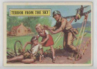1965 Topps Battle: Story of World War II #35 Terror From The Sky Card 0s4