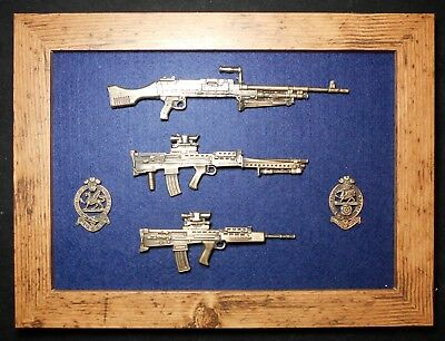 Queen's Regiment and Princess of Wales's Royal Regiment (PWRR) frame