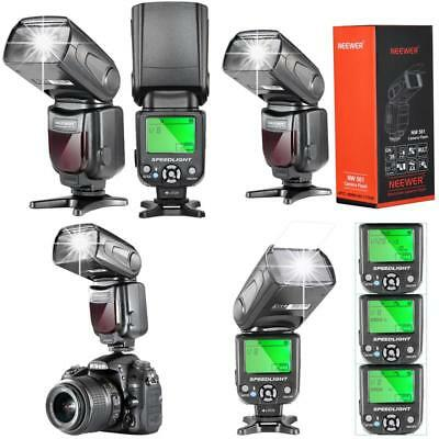 Neewer NW 561 Speedlite Flash With LCD Display For Canon Nikon Digital DSLR Came