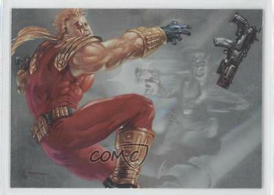 1995 Skybox Master Series Ultraforce Hololithograms #H2 Warstrike Flash Card 9cb