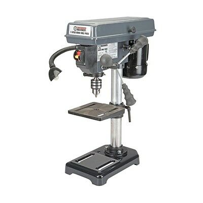 """NEW! 5 speed 8"""" bench top drill press - 760 to 3070 RPM - tilt table & light!"""