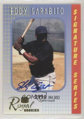 2000 Royal Rookies Signature Series Autographs Autographed #2 Eddy Garabito Auto