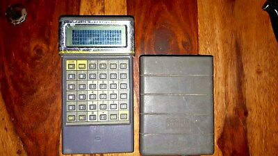 psion 2 model LZ64 vintage pda, working missing battery cover