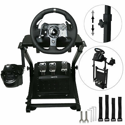 GT ART Racing Simulator Steering Wheel Stand for G27 G29 PS4 G920 T300RS