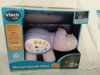 VTech Starlight Sounds Musical Night Light (Hippo)