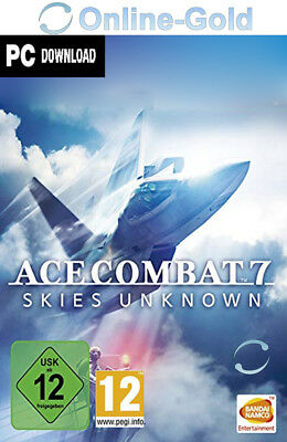 Ace Combat 7: Skies Unknown Key - STEAM Digital Code - PC Game Version [DE/EU]