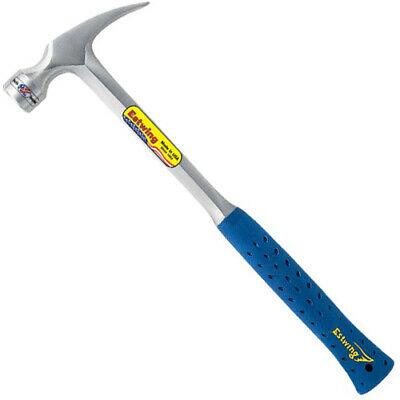 Estwing 28oz Milled Face Straight Claw Framing Hammer with Vinyl Grip E3/28SM