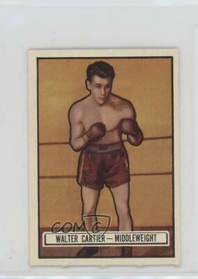 1951 Topps Ringside #33 Walter Cartier Boxing Card
