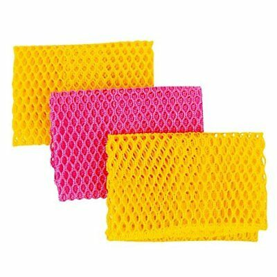 Top Clean Innovative Dish Washing Net Cloths, 11 By 11 Inches, 3(3)