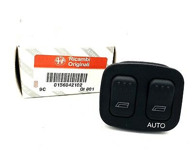 Brand New Genuine Drivers Side Window Switch Alfa Romeo GTV Spider 156042102
