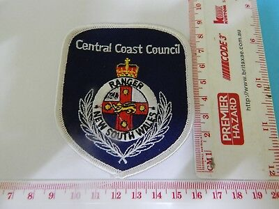 Central Coast Council NSW Ranger Patch hard to get