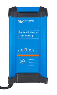 Battery charger 15A 12V Victron Blue Smart 12/15 IP22 1 outlet