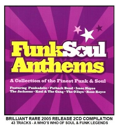 Best Greatest Soul Funk Hits 2CD Aretha Franklin Rose Royce Isaac Hayes Gap Band