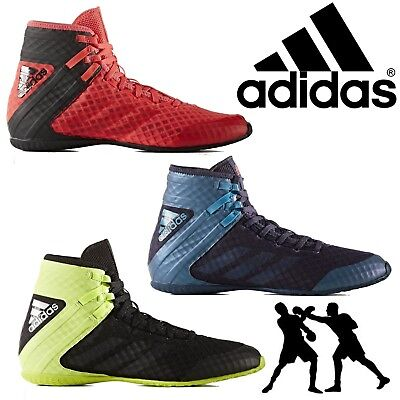 adidas Speedex 16.1 Mens Boxing Boots Sports Lace Up Light Weight Trainers SALE