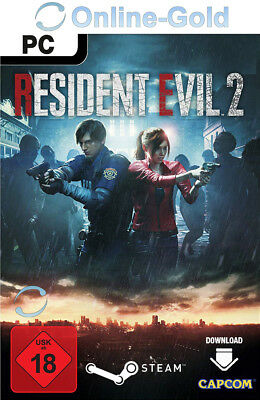 Resident Evil 2 Remake Key - RE:2 STEAM Digital Download Code PC Spiel DE/EU