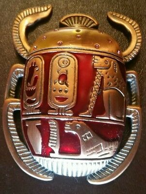 HUGE Ancient Egyptian Scarab Copper Beetle