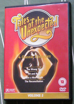 TALES OF THE UNEXPECTED Volume 2 DVD Four Classic Episodes Brenda Blethyn vgc R0