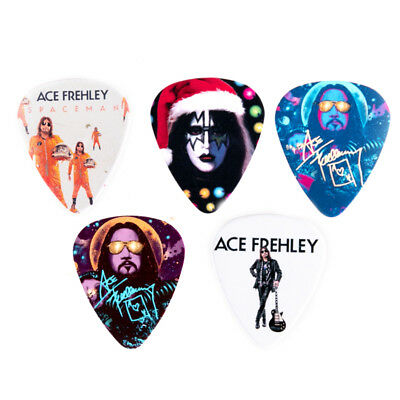 KISS GUITAR PICK - ACE FREHLEY NJ New Jersey KISS Expo 2018, SET OF ALL 5