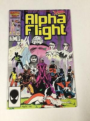 Alpha Flight 33 Nm Near Mint 1st Lady Deathstrike Marvel Copper Age