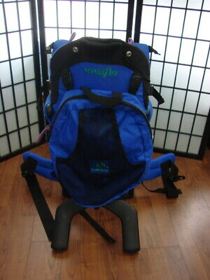 1411df1b3cd Evenflo Trailblazer Infant Baby Carrier Hiking Backpack Good Condition