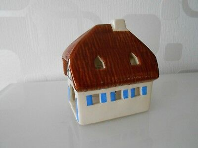 Lichthaus  Original Leyk / Handgemalt / 1996 Germany / Model Badisches Haus