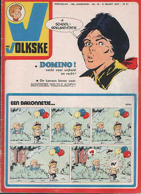 Ons volkske n°10   1975  complet avec point tintin