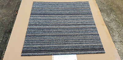 STRIPES HOME OFFICE FLOOR CARPET TILE GRADE A 50x50cm (DELIVERY AVAILABLE)