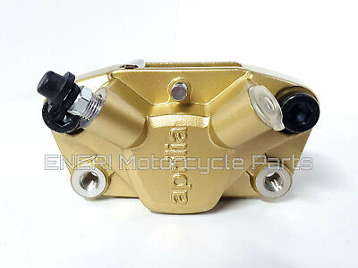 Genuine Aprilia Sr50 03-14 Rear Brake Caliper Gold D30 Ap8213557
