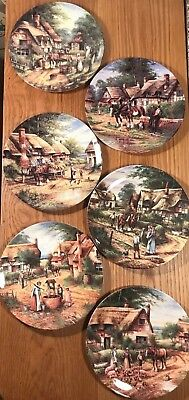 "Wedgwood 'Country Day' series Collectors' Plates   (20 cm/8"")"