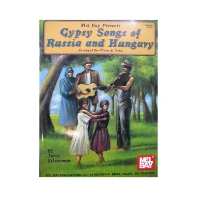 Gypsy Songs of Russia and Hungary Chant Piano 1997 partition sheet music score